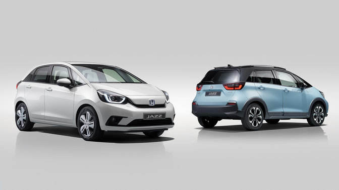 Honda Jazz e Jazz Crosstar in studio
