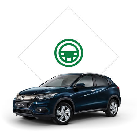 Brochure illustrativa di Honda HR-V.