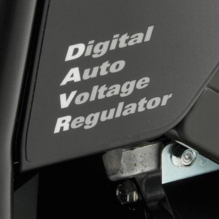 Dettaglio del regolatore di tensione automatico digitale.