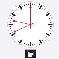 Immagine del quadrante di un orologio.