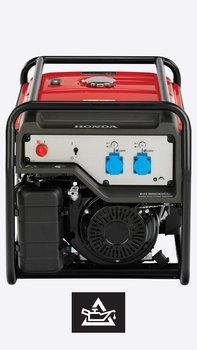Vista frontale del generatore high-performance.