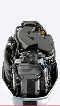 Inquadratura dell'interno del motore.