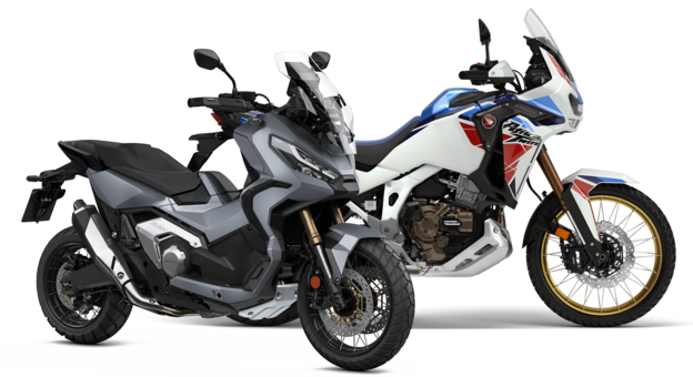 Due moto Adventure Honda