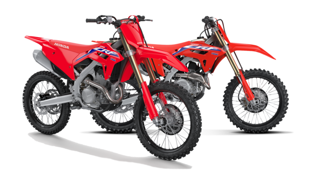 Due moto off road Honda