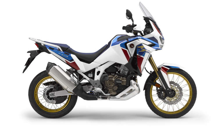 Honda Africa Twin Adventure Sports, lato destro, scatto in studio