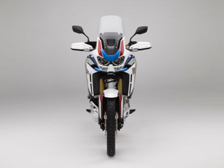 Honda Africa Twin Adventure Sports, vista frontale