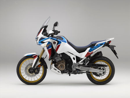 Honda Africa Twin Adventure Sports, lato sinistro