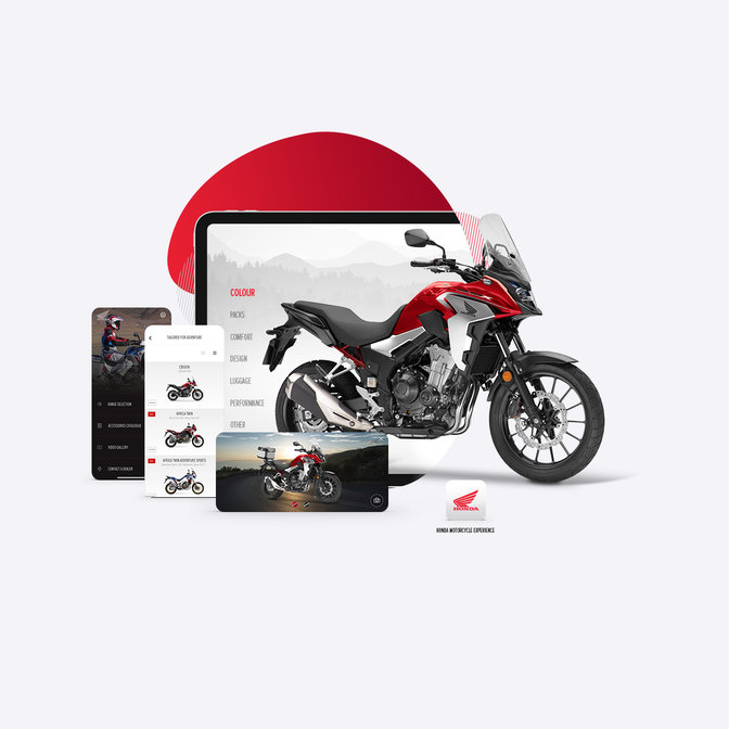App Honda Motorcycles Europe