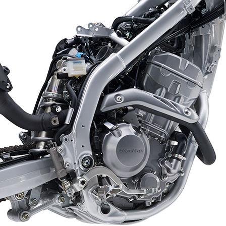 CRF250L dettaglio del motore
