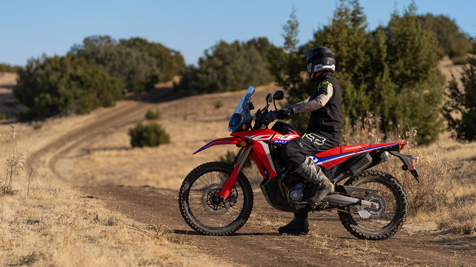 Honda CRF300 Rally Parla di libertà