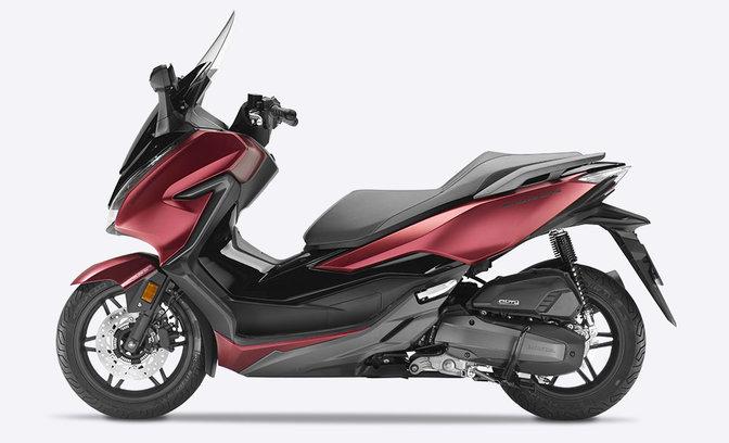 panoramica forza 125 scooter gamma moto honda. Black Bedroom Furniture Sets. Home Design Ideas