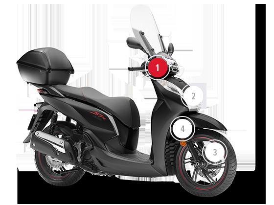 data di rilascio: prezzo più basso 100% di soddisfazione Honda SH300I   Scooter 300 cc   Honda IT