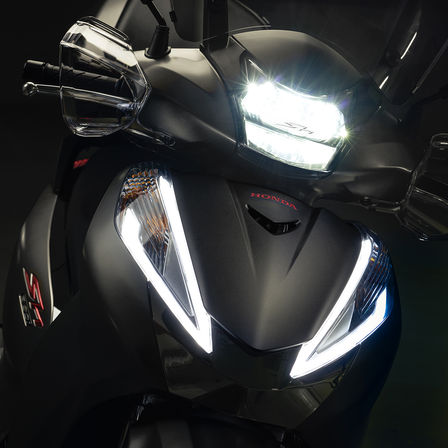 Panoramica Sh300i Scooter Gamma Moto Honda