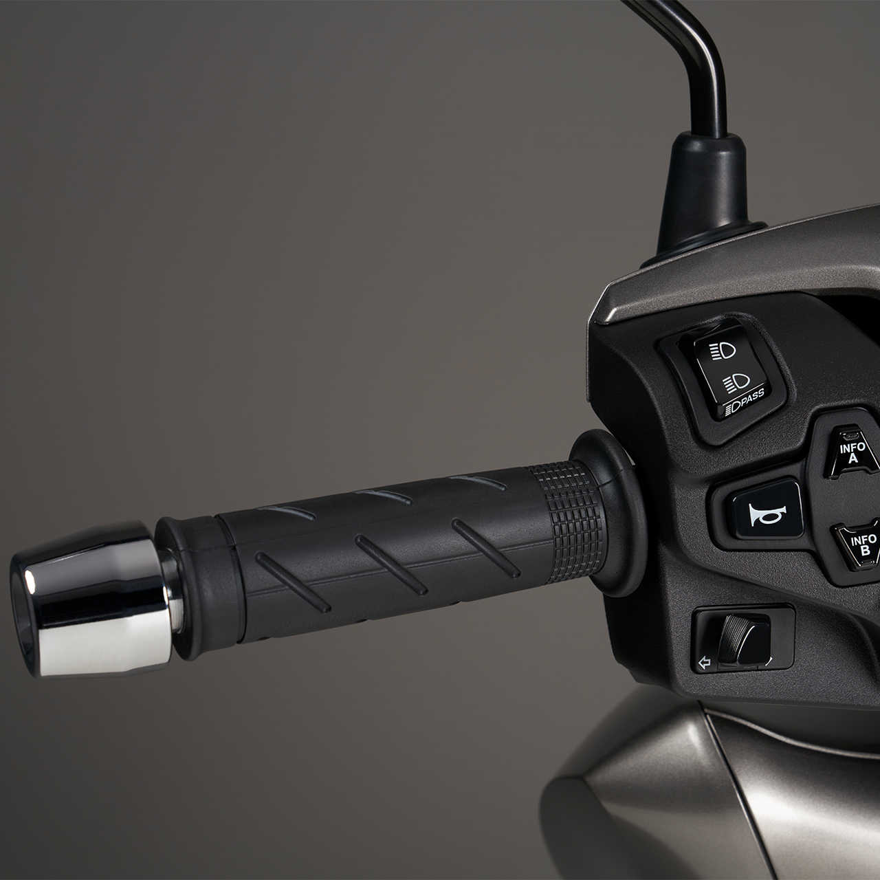 Honda SH350i: MANOPOLE RISCALDABILI