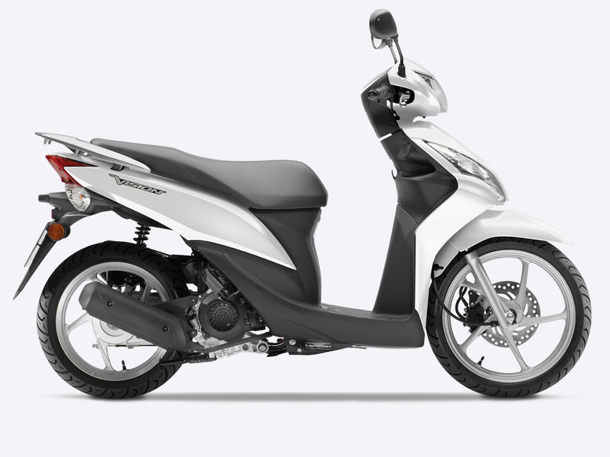 panoramica vision 50 scooter gamma moto honda. Black Bedroom Furniture Sets. Home Design Ideas