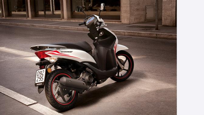 panoramica vision 50 scooter gamma moto honda. Black Bedroom Furniture Sets. Home Design Ideas