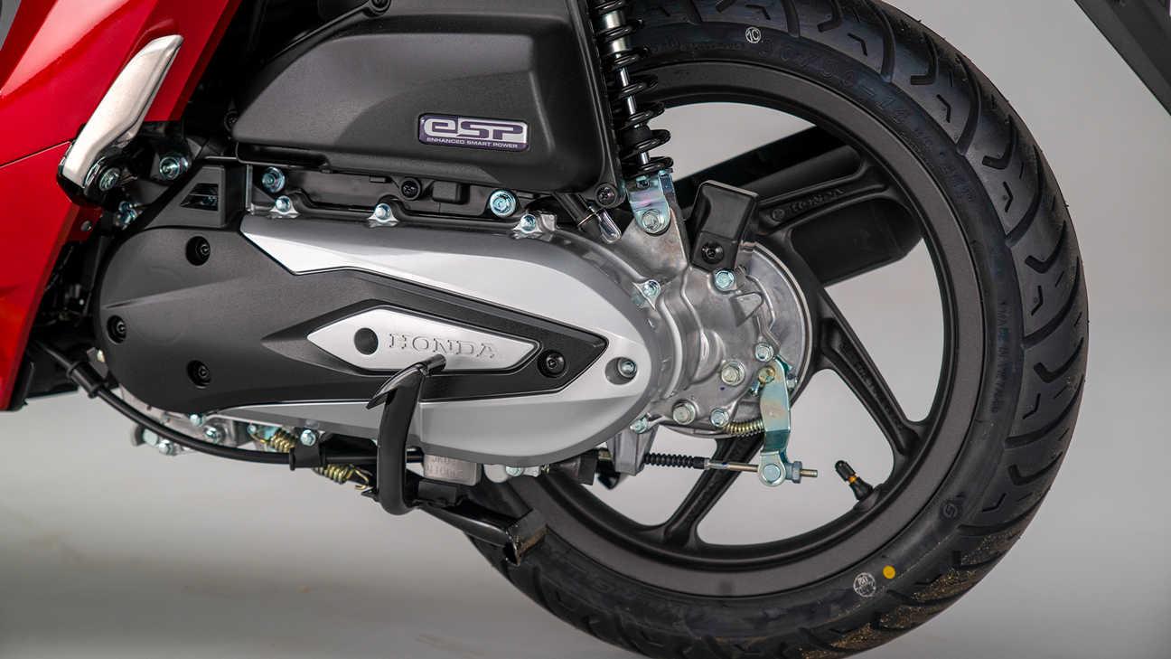 Honda Vision 110, nuovo motore enhanced Smart Power (eSP) raffreddato ad aria più efficiente