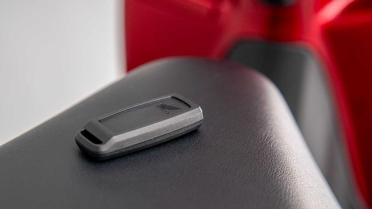 Honda Vision 110, la praticità della Smart Key