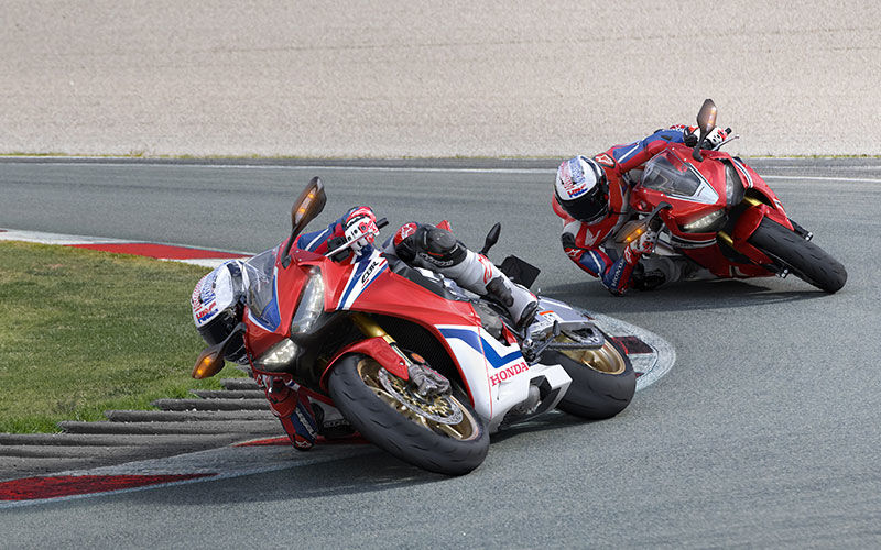 Due CBR1000RR Fireblade SP in brusche virate
