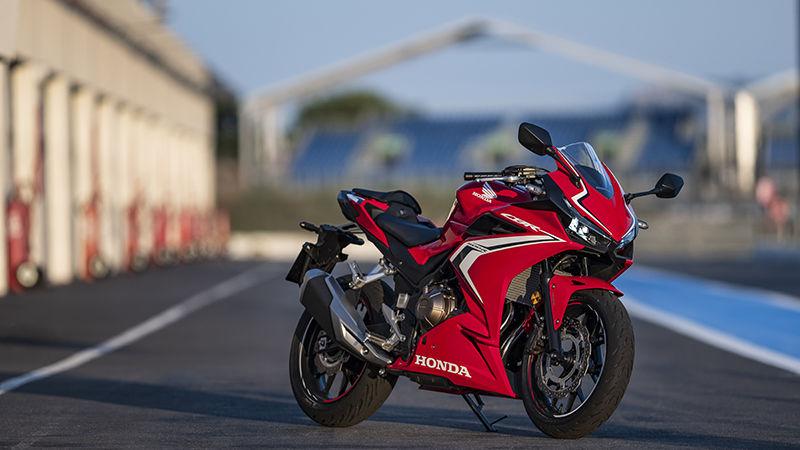 Panoramica Cbr500r Supersportive Gamma Moto Honda