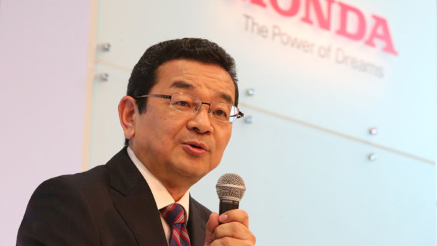 Mr. Takahiro Hachigo, Presidente e CEO di Honda Motor Co. Ltd.