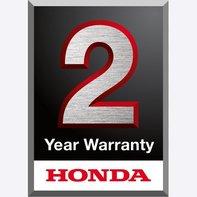 Compatto motozappe Honda, logo 2 anni di garanzia.